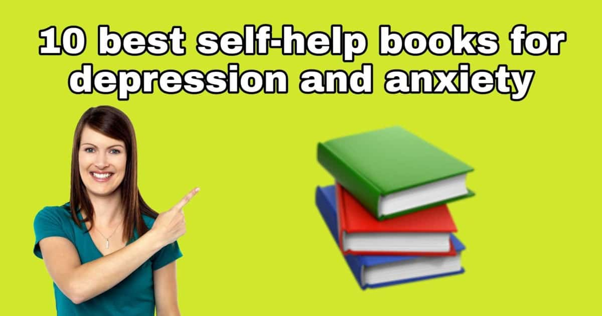 books for depression anxiety